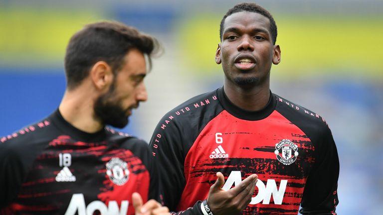 Bisakah Bruno Fernandez dan Paul Pogba bermain bersama di lini tengah Manchester United?
