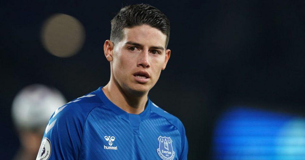 Berita transfer Everton disiarkan langsung - Dilema James Rodriguez, update Max Aarons, klaim Raphael Leao