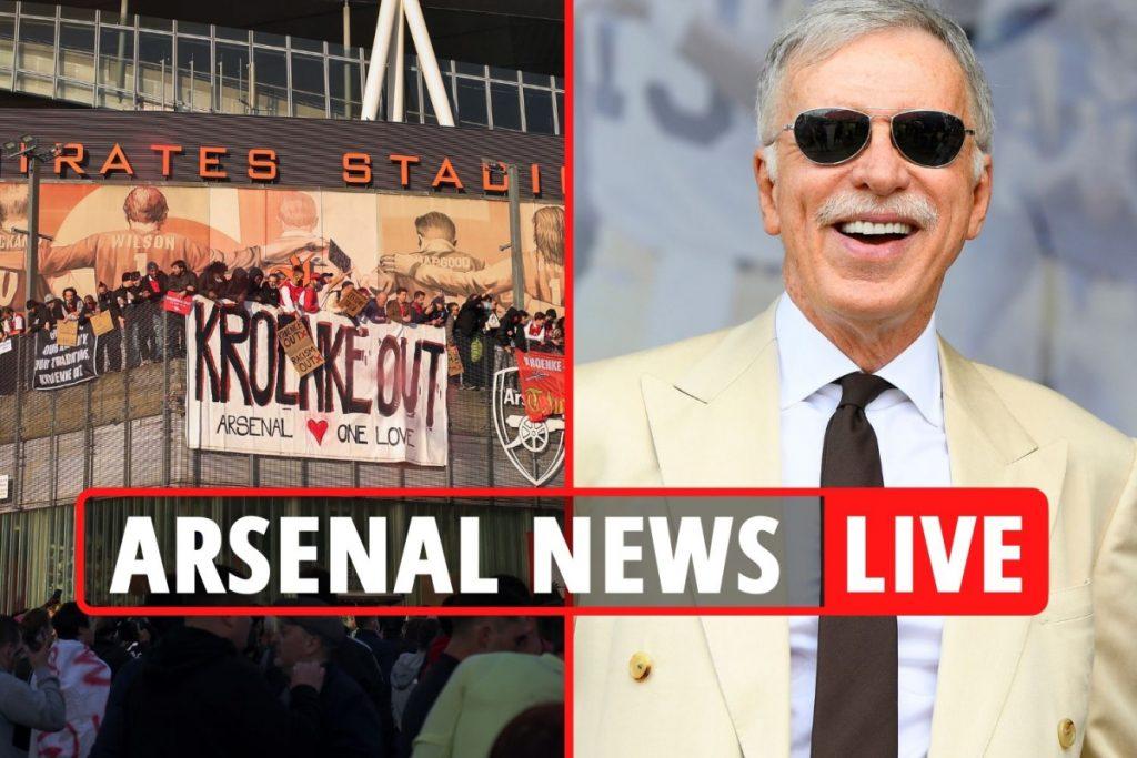 Arsenal mengambil alih siaran langsung: Kronke kemungkinan akan tetap tinggal setelah protes, kurator Daniel Eck dengan harga £ 1,8 miliar