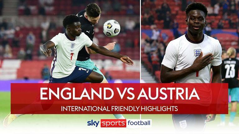 Inggris mengalahkan Austria