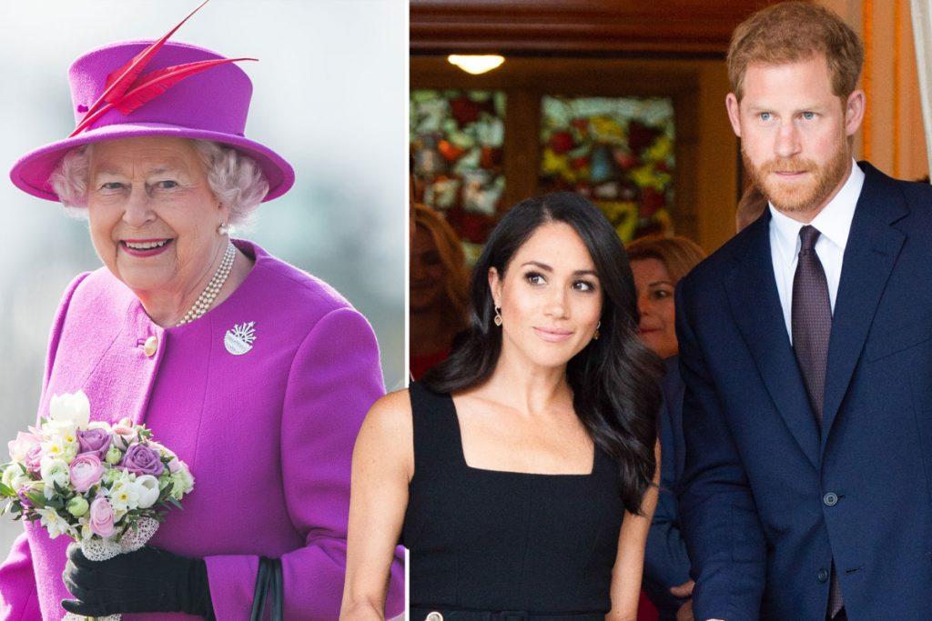 Pangeran Harry dan Meghan Markle memperkenalkan Ratu Elizabeth melalui panggilan video