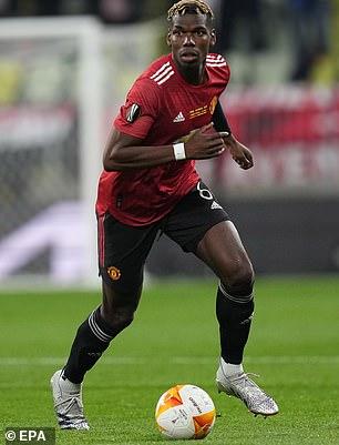 Bicara tentang Paul Pogba - yang memiliki 12 bulan tersisa di kontraknya dengan United