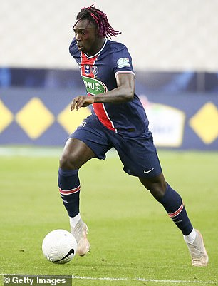 Mereka juga membahas Moise Kean - yang bisa menandatangani kesepakatan pinjaman kedua di PSG