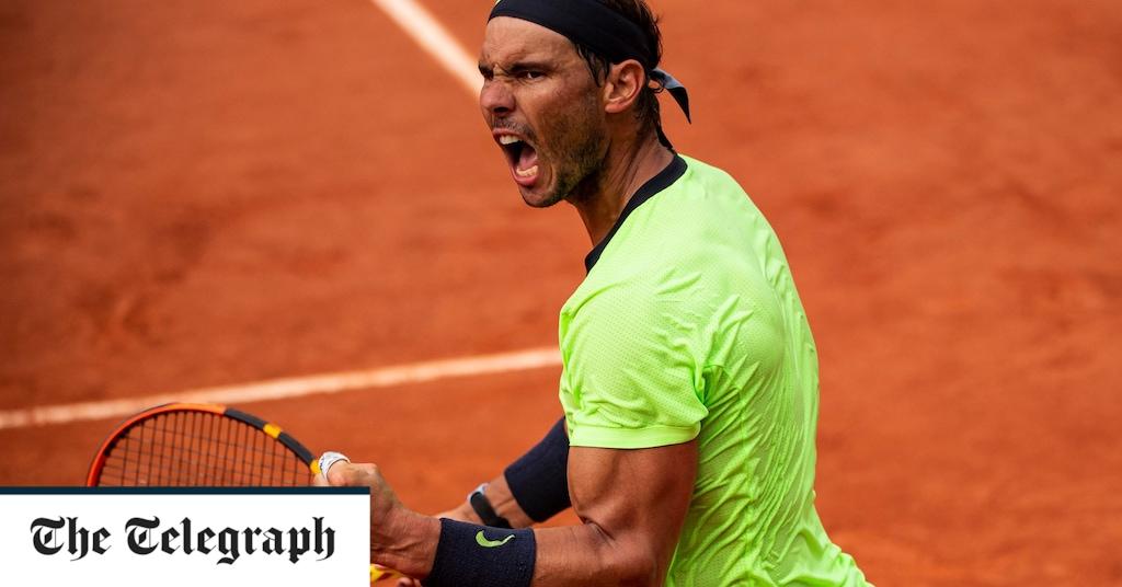 Rafael Nadal dan Janek Sener, Prancis Terbuka 2021: skor langsung dan pembaruan terkini