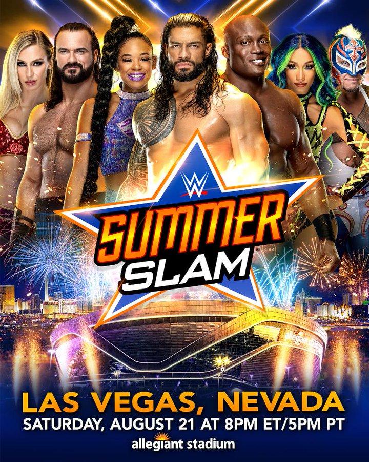 Superstar WWE Berinteraksi dengan SummerSlam