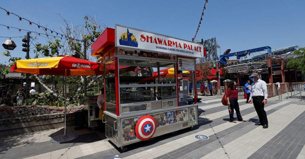 The Avengers siap menyambut penggemar Marvel di kampus baru Disneyland